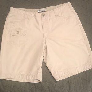 Columbia Khaki Walking Shorts Sz 8